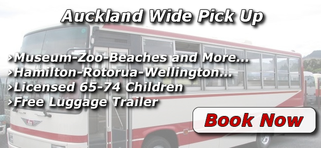 coach hire auckland new zealand